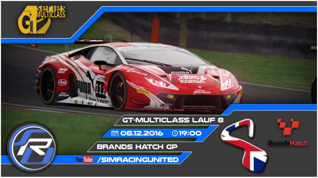 8. Lauf der GT Multiclass Series im britischen Brands Hatch