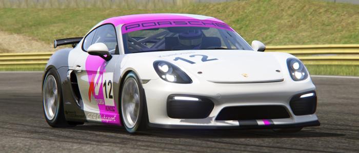 Serienstart fuer den Porsche Cayman Cup